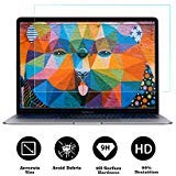 Tempered Glass Screen Protector Compatible 2018 New MacBook Air 13 Inch(Model:A1932)& New MacBook Pro 13 Inch(Model:A1706 A1708 A1989), 9H Hardness Anti Scratch and Bubble Free Glass Scree