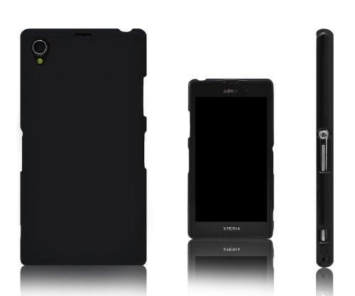 Xcessor Vapour Flexible TPU Case for Sony Xperia Z1 L39h. Black