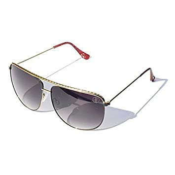 CECT STOCK Unisex Púrpura Gris lentes Gafas de sol tipo ...