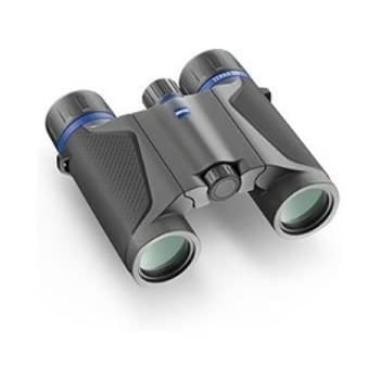 Swarovski Optik 8x25 CL Pocket Mountain Water Proof Roof Prism Binocular with 6.8 Degree Angle of View Black Rubber Armoring