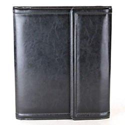Samsonite Card Table (Samsonite(R) Vinyl Tri-Fold Writing Pad With Calculator, 10 1/2in. x 12 1/2in., Black/Red )