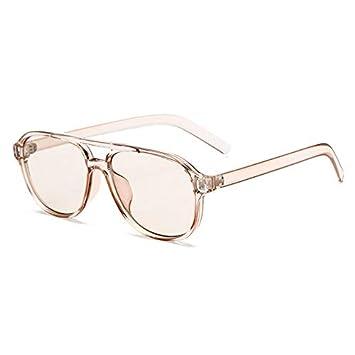 YLYZJH Gafas de Sol de Mujer de Gran tamaño Gafas de Sol ...