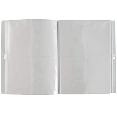 Monster Binder - 4 Pocket Matte White Album with White Pages (Limited Edition) - Holds 160 Yugioh, Magic, and Pokemon Cards: Toys & Games