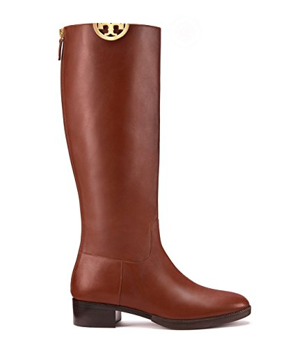 Tory Burch Women's Sidney Leather Boots (8.5 B(M) - Baby Mk Boots