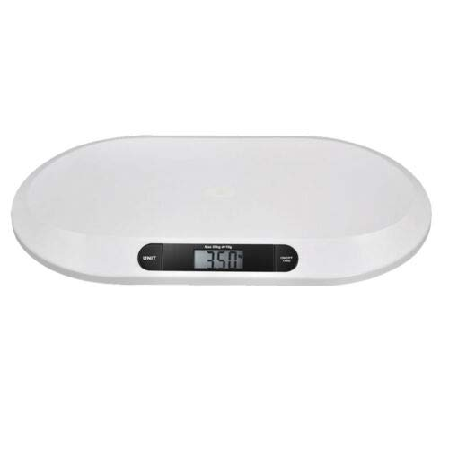 Baby Scale, Multi-Function Toddler Scale, Baby Scale Digital, Pet Scale, Infant Scale with Hold Function, 3 Weighing Modes,20kg/44pounds Capacity