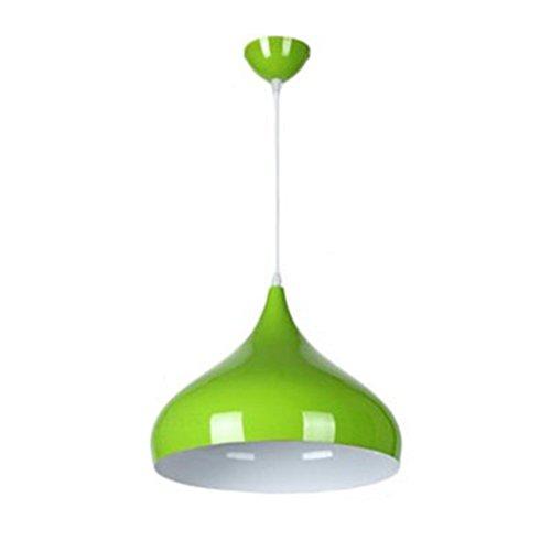 Pendant Light Green Wire - 9