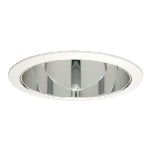 Halo Recessed 406SC 6-Inch Trim Baffle with Specular Clear Reflector and Torsion (Torsion Spring Baffles)
