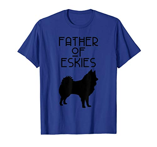 Father Of Eskies ACR175a Dog T-Shirt