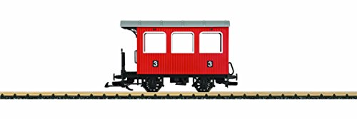 LGB Toy-Train Wood 4-Wheel Passenger Car Ready to Run G Scale Car
