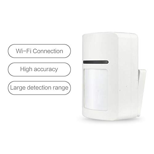 QinLL Wifi Motion Sensor Alarm Detector PIR sensor Motion Dectector For Smart Home Automation and App Notification…