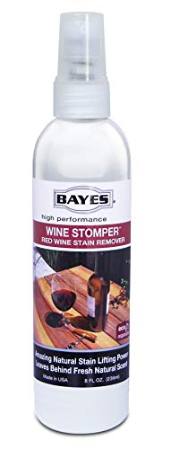 Bayes High-Performence Wine Stomper Red Wine Stain Remover Spray - Quickly Removes Red Wine, Juice, Blood, and Other Dark Stains - 8 ()