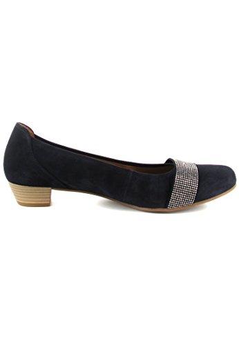 GABOR comfort - Damen Pumps - Blau Schuhe in Übergrößen