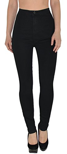 by-tex Jean Femme Skinny Jeans Femmes Taille Haute Pantalon Femme Slim surdimensionner Z92 Z92
