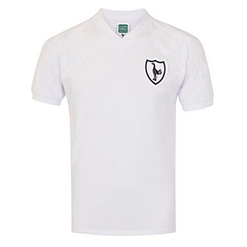 Tottenham Hotspur FC Official Gift Mens 1962 Retro Home Kit No.8 Shirt Large