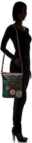 Bag 21 Siara Desigual Shoulder cm Black Ghana tTwxSBqxP