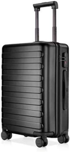 NINETYGO 20 Inch Carry On Luggage, 100 Polycarbonate Hardside Suitcase Luggage With TSA Approved Lock for Business Travel, 360 Rolling Spinner Wheels, Black