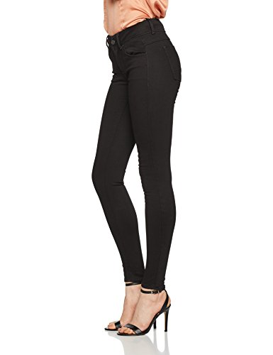 Rinsed Mid D WMN RAW STAR 082 Femme Noir Super G Lynn Skinny Jeans OPngwB