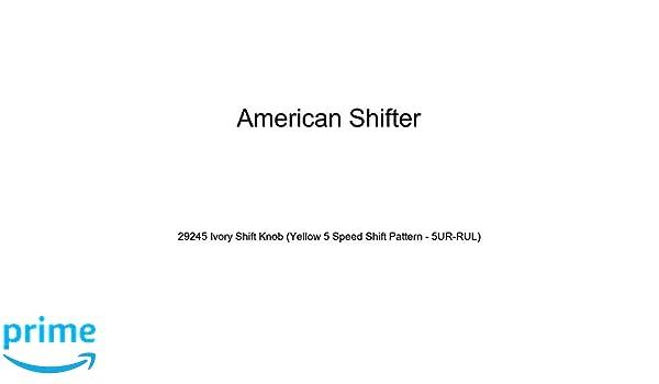 American Shifter 255908 Orange Flame Metal Flake Shift Knob with M16 x 1.5 Insert Black Rocketship