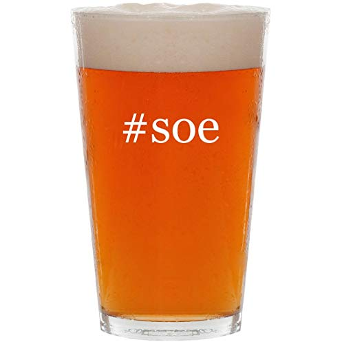 Price comparison product image #soe - 16oz Hashtag Pint Beer Glass
