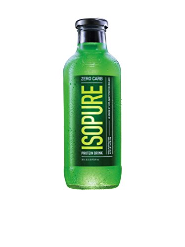 Nature's Best Isopure Ready-to-Drink, Apple Melon (Zero Carb), 20-Ounce/12-Case