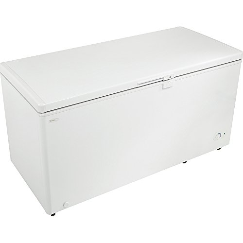 """Danby DCF145A1WDD 61"""" Danby Designer Series Chest Freezer With 14.5 cu. ft. Capacity Front Mounted Thermostat Manual Defrost And Energy Efficient Interior White LED Light:"""