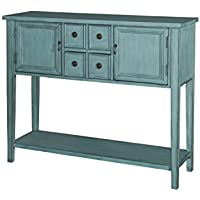 Powell Furniture 15A2060B Duplin Console, Small