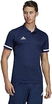 Adidas Team 19 Polo Shirt, M/M, Team Navy Blue/White