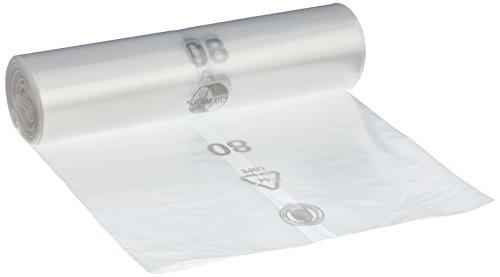 Vuilniszakken DEISS PREMIUM wit of transparant, 70 of 120 liter, 70 Liter – Typ 60, transparant, 1