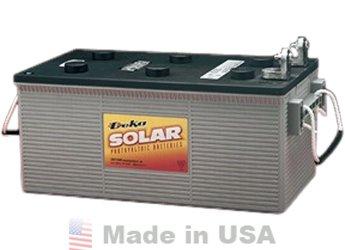 MK 8A8D 245AH (20HR) LTP TERMINAL AGM Battery by MK/Deka