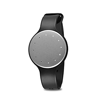 Fitmotion Wearable Activity Tracker and Sleep Monitor Fitness Wristband Watch - Waterproof, Syncs Wirelessly With Bluetooth Compatible Apple and Android Smartphones - Silver