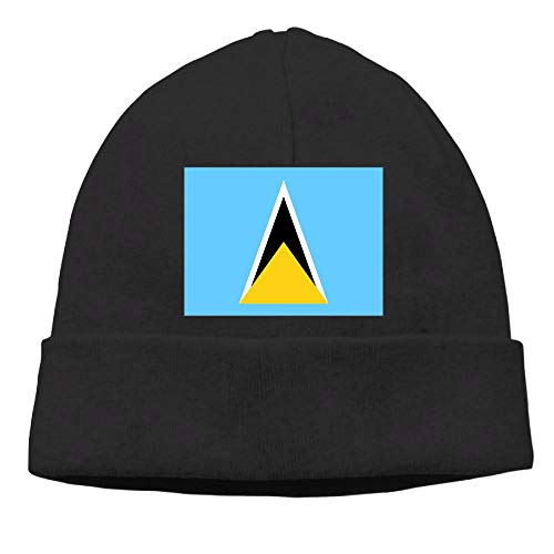 CHAN03 Lucia Flag Beanies Hats Unisex Winter Sports Caps