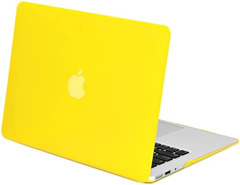 TopCase Rubberized Cover Macbook Yellow