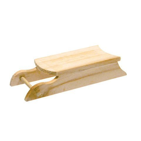 Darice Bulk Buy DIY Wooden Sled 3.5 inches (12-Pack) 2838