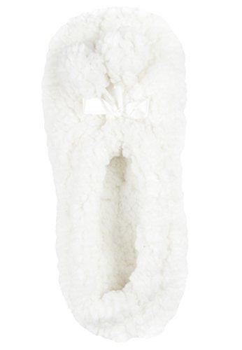 Capelli New York Flauschige, kuschelige Hausschuhe, Hausballerinas Cloudlet Ivory