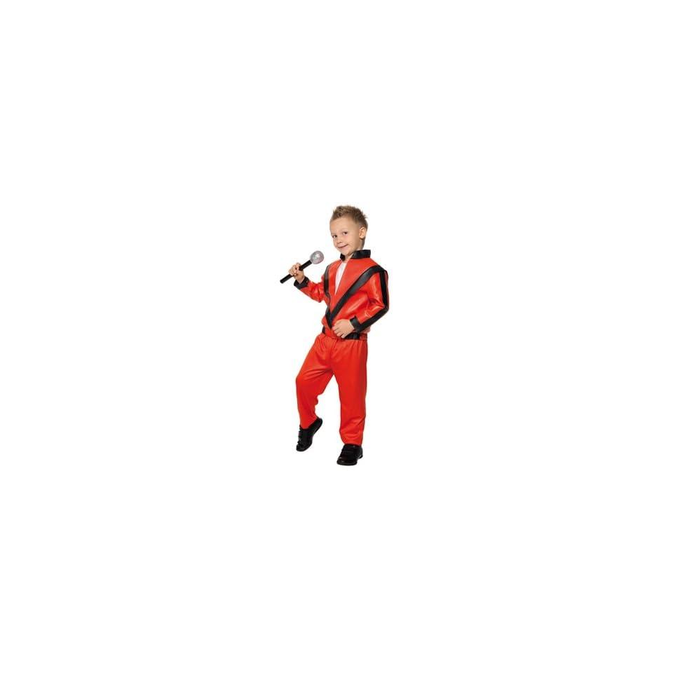 Kids Michael Jackson Thriller Costume Size Medium