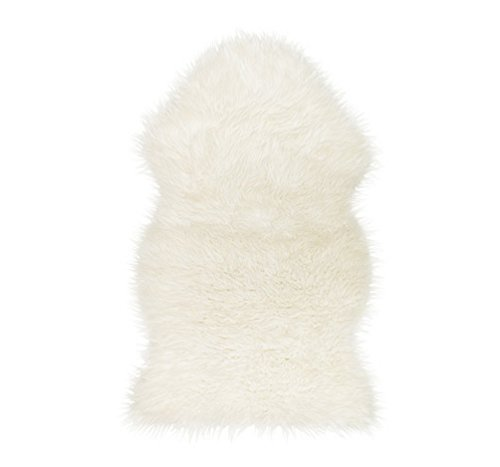Ikea 302.290.77 Tejn faux sheepskin, white (White Ikea Furniture Bedroom)