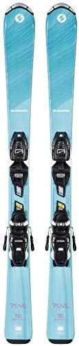 Blizzard Pearl JR (100-140) Skis + FDT JR 4.5 Bindings for Children