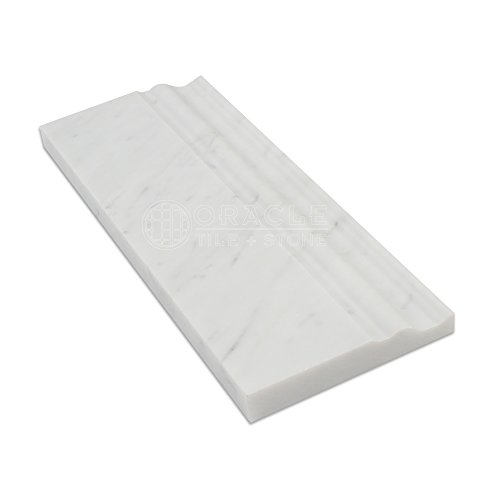 carrara white italian marble trim - 5