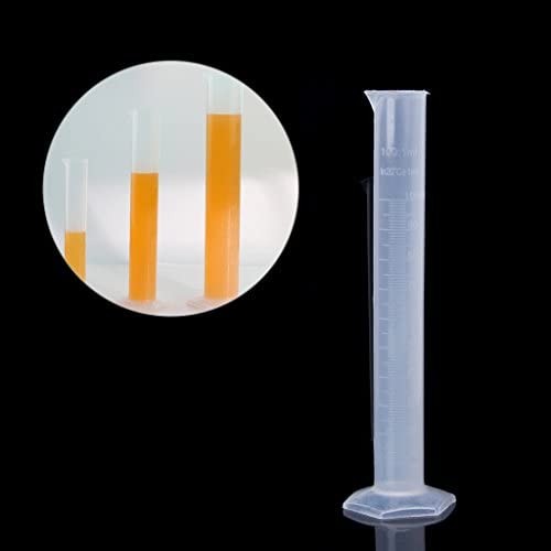 ZOOMY 100 ml Kunststoff Hydrometer Reagenzglas Für Homebrew Whisky Alkohol Bier Wein Mead
