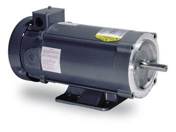 - 1hp 1750 RPM 56C Frame 180 Volts DC Baldor Electric Motor # CDP3455