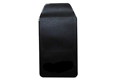 6 Pcs Black Vinyl Pocket Protector, for Pen Leaks,for School Hospital Office by Alago (Image #1)