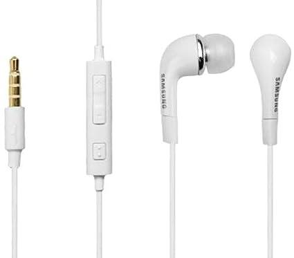 Samsung In-Ear-Stereo-Headset in Weiß, mit Lautstärkenregler, in Großhandelsverpackung, geeignet für Galaxy A3 (2016) SM-A310