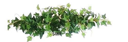 2-Green-Leaf-Sage-Ivy-Swag-Greenery-Silk-Wedding-Flowers-Home-Party-Holiday-Decor