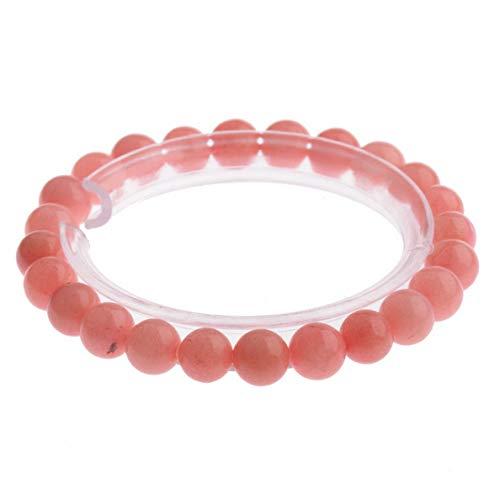 Flowers Disney Couture Necklace - Florance jones 8MM Natural Lava Sone Colorful Beads Charm Hand Beads Beaded Fashion Bracelets | Model BRCLT - 4644 |