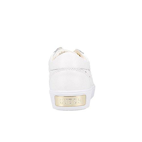 Weiß Sneakers Guess FLGLN3 Weiß LEA12 TZYIq8