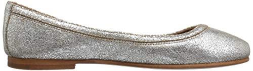 Ballet Women's Silver Flat FRYE Multi Carson 7YCxq7nS