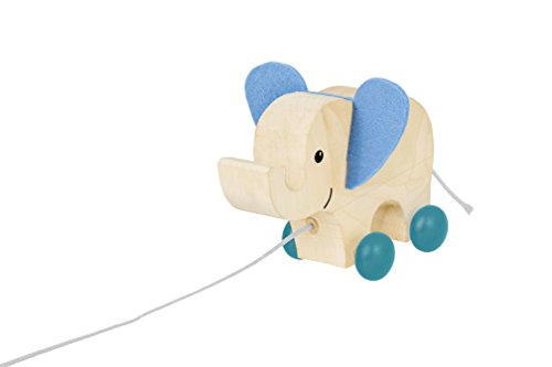 Selecta 62000Wooden Pull Along Toy Elephant Photo Frame