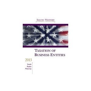South-Western Federal Taxation 2013: Taxation of Business Entities ((with H&R Block @ Home Tax Preparation Software