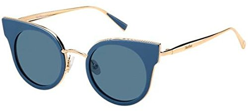 max-mara-ilde-i-s-026s-black-gold-copper-9a-blue-lens-sunglasses