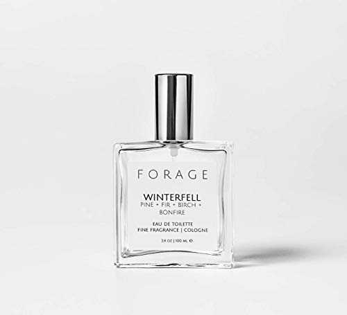 WINTERFELL Book Lover's Fine Fragrance Mist | Eau de Toilette | Cologne | Natural Perfume | Vegan + Cruelty Free by Forage Candle Co